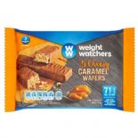 Weightwatchers Caramel Wafers 80g